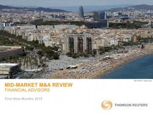 『Mid-Market Financial Advisory Review』表紙