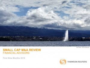 『Small-Cap Financial Advisory Review』表紙